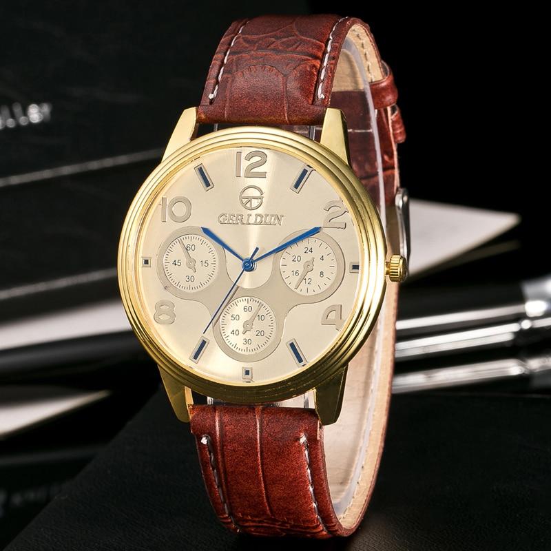 2017 Fashion Chronograaf Sport Heren Horloges Topmerk Luxe Militaire - Herenhorloges - Foto 4