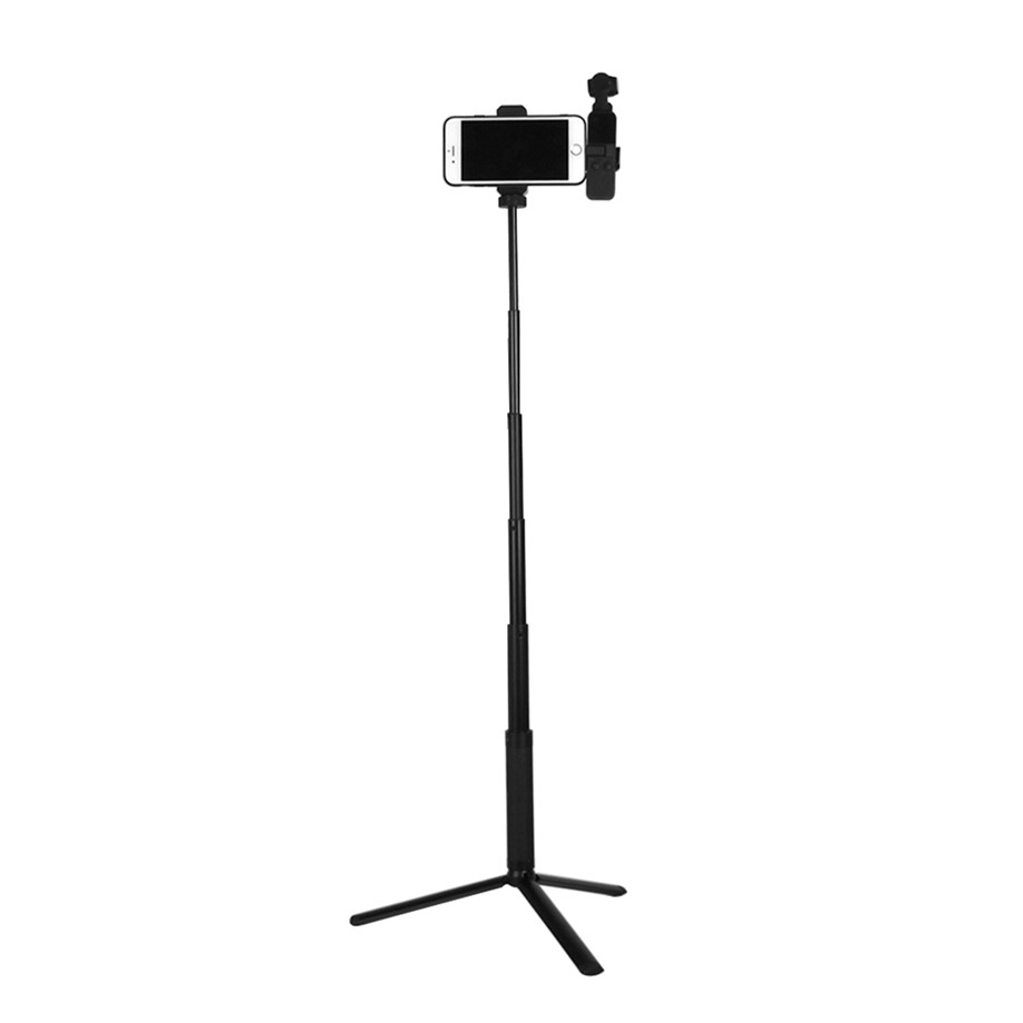 OSMO Pocket Smartphone Fixing Bracket Stand Clamp Extending Rod Tripod for DJI OSMO POCKET Gimbal Accessories 16