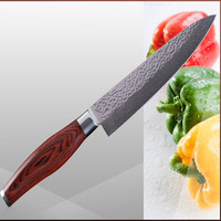 VG10 damascus knives brand 8 inch chef knife 71 layers of Japanese damascus steel kitchen knives beauty pattern cooking tools