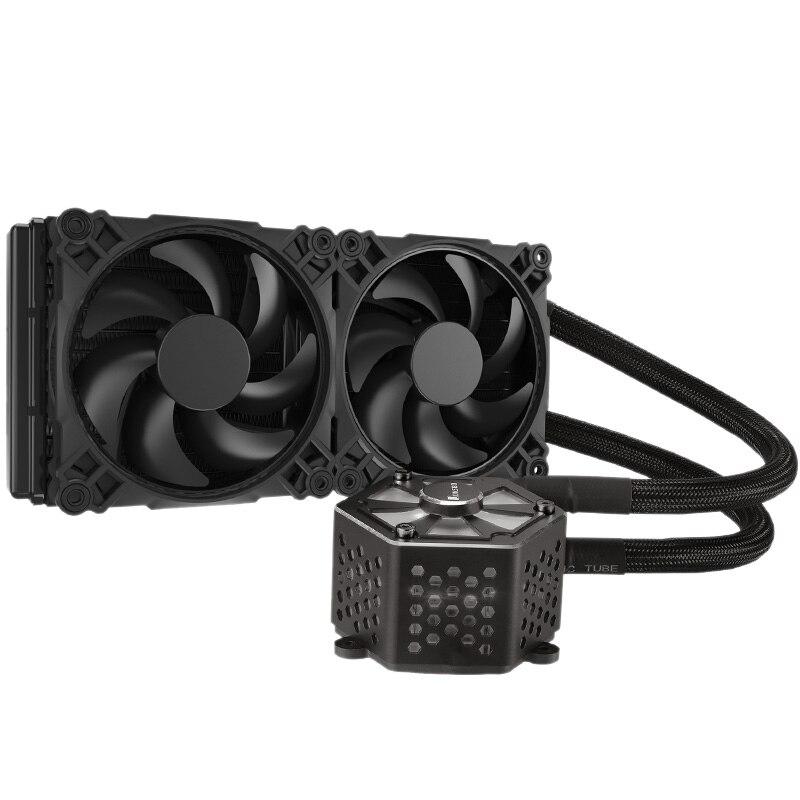Jonsbo Tw-240 Cpu refroidissement par eau 4Pin Pwm 12Cm ventilateur Rgb Aura 256 couleur changement automatique Led radiateur pour Amd Intel