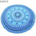 ZAFUL Ronda Novedad Beach Cover Up 20 tipo de Pizza Divertido Mandala Impresión Piscina Toalla de Playa Manta Throw Pashmina Ducha Mesa toalla