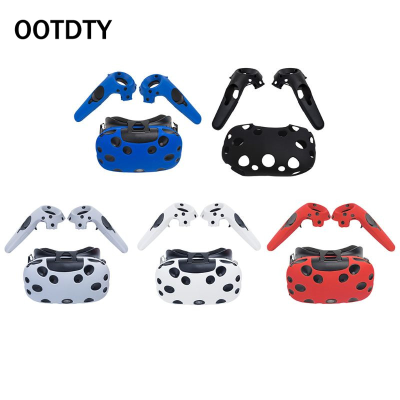 Protective Cover Silicone Controller Handle Case Anti Slip Shockproof Shell Game Accessories For HTC Vive Headset VR