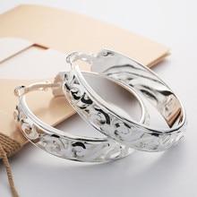 Новинка, дизайнерские серьги, женские золотые и серебряные серьги-кольца, Модные Ювелирные серьги для женщин, женские серьги, Мода# T30