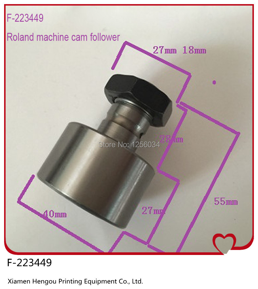 5 pieces roland machine cam follower F-223449, roland 700 spare parts