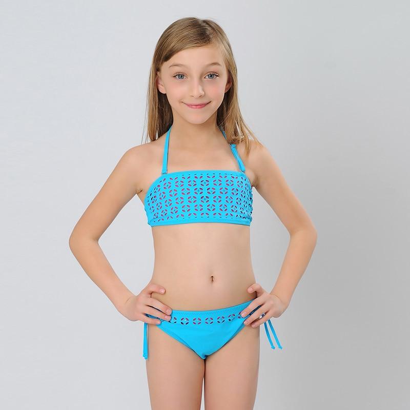 Hiheart 2015 New Girls Swimsuit Biquini Infantil Girl -7864