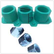 Concrete Flower Pot Making Silicone Mould for Cement Planter molds