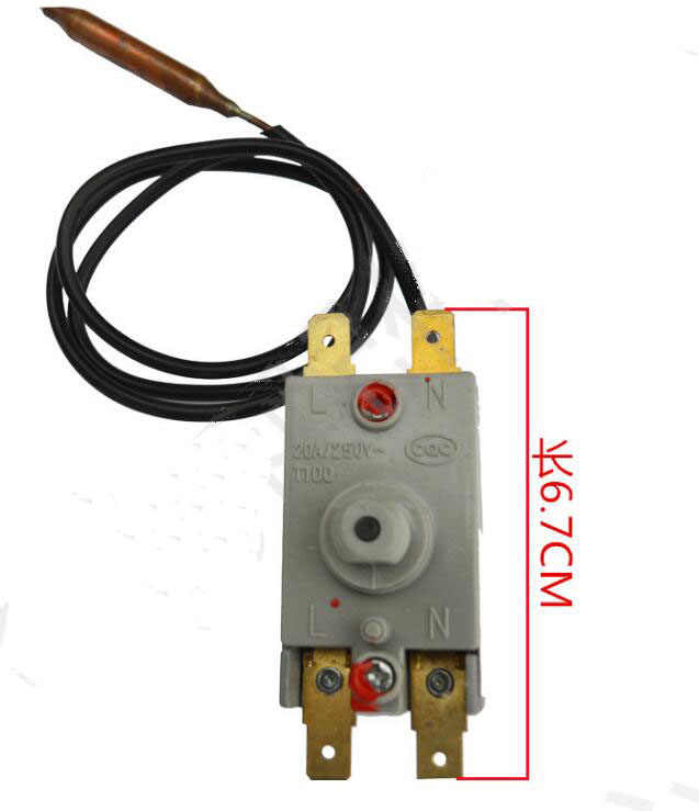 Electric Water Heater Parts Temperature Control thermostat switch 97-110 Degree with cable 56cm