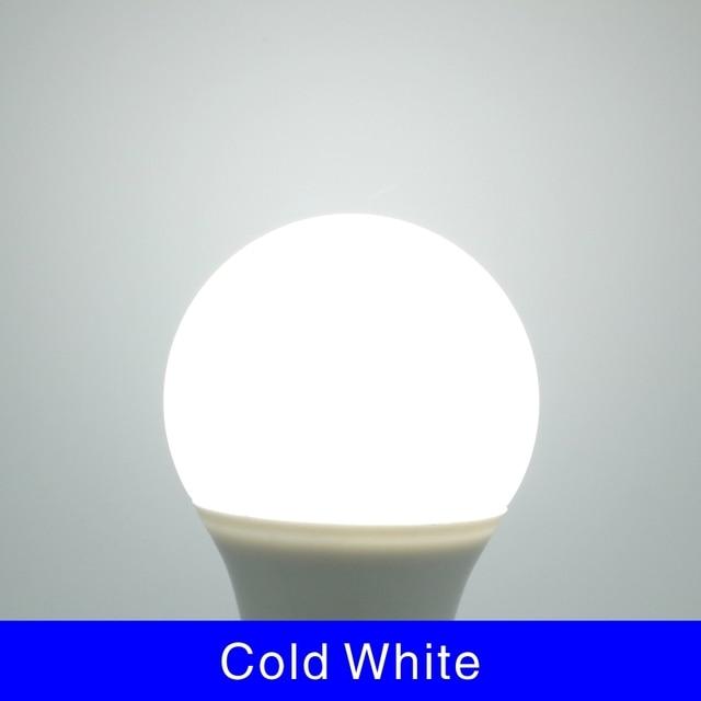 10pcs/lot E27 E14 LED Bulb Lamps 3W 6W 9W 12W 15W 18W 20W Lampada LED Light Bulb AC 220V-240V Bombilla Spotlight Cold/Warm White