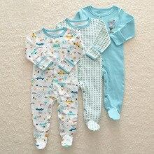 赤ちゃんの少女ロンパース新生児sleepsuit花ベビーロンパース幼児ベビー服長袖新生児ジャンプスーツ男の子パジャマ