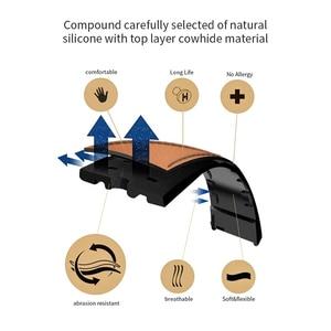 Кожаный ремешок 24 мм из воловьей кожи для смартфона KOSPET Hope/Optimus Pro/Brave