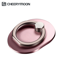 CHEERYMOON Hot Q2 Ring Holder 6Colors Universal Mobile Phone  Metal Finger Grip Stand Bracket For iPhone 8 X Samsung S8