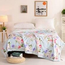 Alta Calidad 100% algodón edredón/manta/colcha/edredón de verano y de invierno reina tamaño de cama hecha a mano