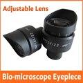 WF10X 22mm Einstellbare Hohe Großem Austrittspupillenabstand Weitwinkel Biologisches Mikroskop Okular Objektiv 23 2mm mit Gummi Auge Wachen Tassen-in Mikroskope aus Werkzeug bei