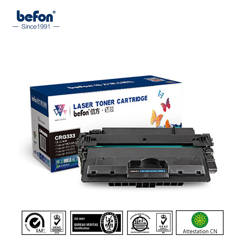 befon CRG-333 CRG333 CRG 333 Toner Cartridge compatible for Canon LBP-8750N LBP-8780X CRG-333H high quality black laser toner powder for canon epw ep 72 ep 72 lbp 930 lbp 2460 lbp 950 lbp950 1kg bag printer
