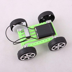 5 pcs Mini DIY Toy Car Kit Robot Toy Mov