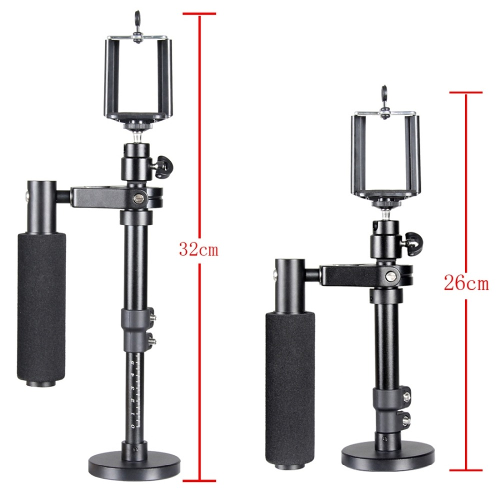 PULUZ S100 Handheld Camera Stabilizer for Steadicam for Iphone 6 7 plus Smartphone GoPro HERO5 Session HERO 5 4 in Tripods from Consumer Electronics