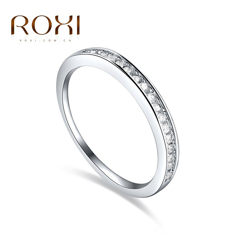 ROXI Finger-Rings Jewelry Romantic Cubic-Zirconia Fashion Women Brand for Color