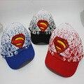 Novo design 3 cores crianças Avengers batman Superman boné de beisebol bonito criança crianças bonito hip hop snapback chapéus casquette