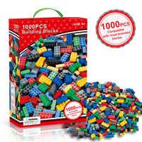 Blocks 1000pcs Compatible Legoinglys Bricks Designer Creative Classic DIY Building Blocks Sets Educational Toys For Children