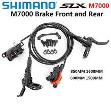 SHIMANO DEORE SLX M7000 тормоз горные велосипеды Гидравлический дисковый тормоз MTB BR BL-M7000 850 мм 1600 мм левый и правый велосипед аксессуары