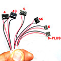 6 in 1 Professional Mobile Phone Repair Current Test  Power data cable for iPhone4/4S/5/5S/6/6 plus DC power supply