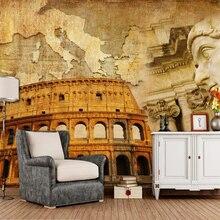 Great Roman Empire retro 3d wallpaper,living room tv wall bedroom wall