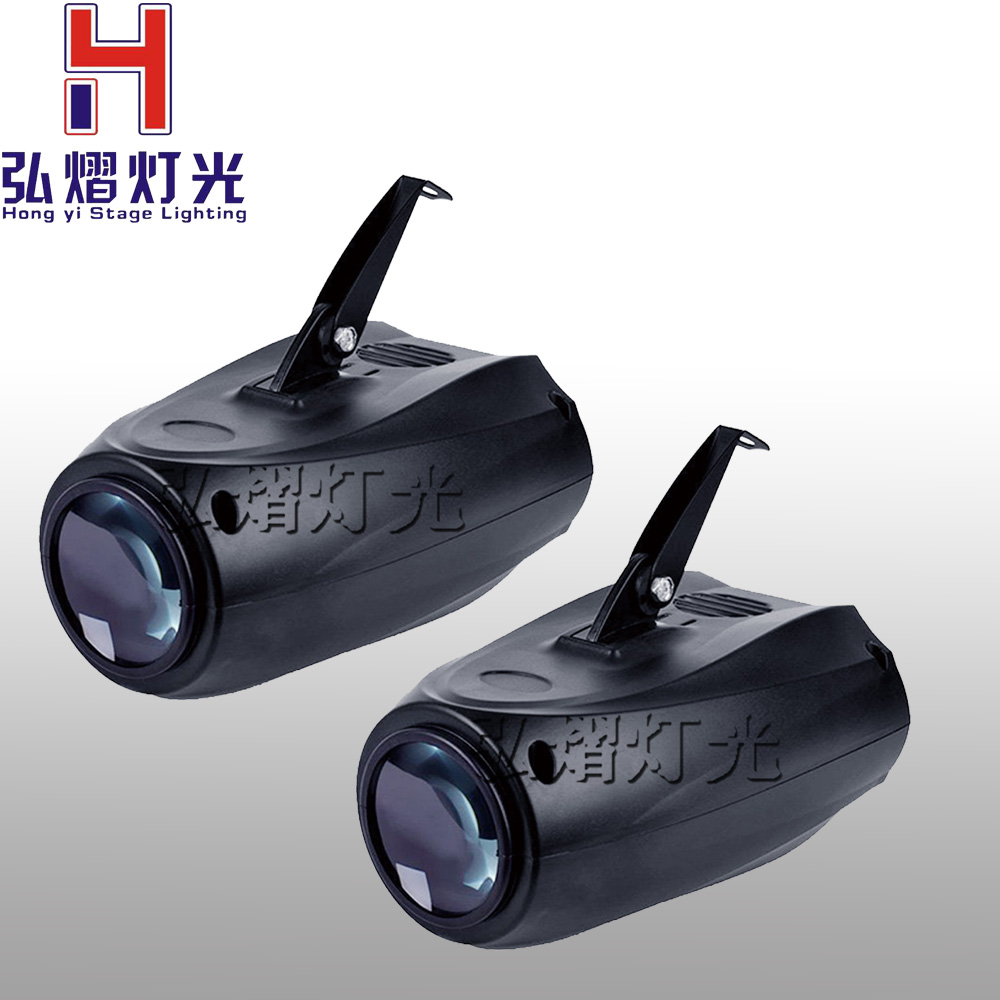 2PCS/LOT Small Airship Sound active/ Auto/64 RGBW Color LED Moonflower Lighting/LED Magic Projector for Disco, Clubs, KTV, Bar
