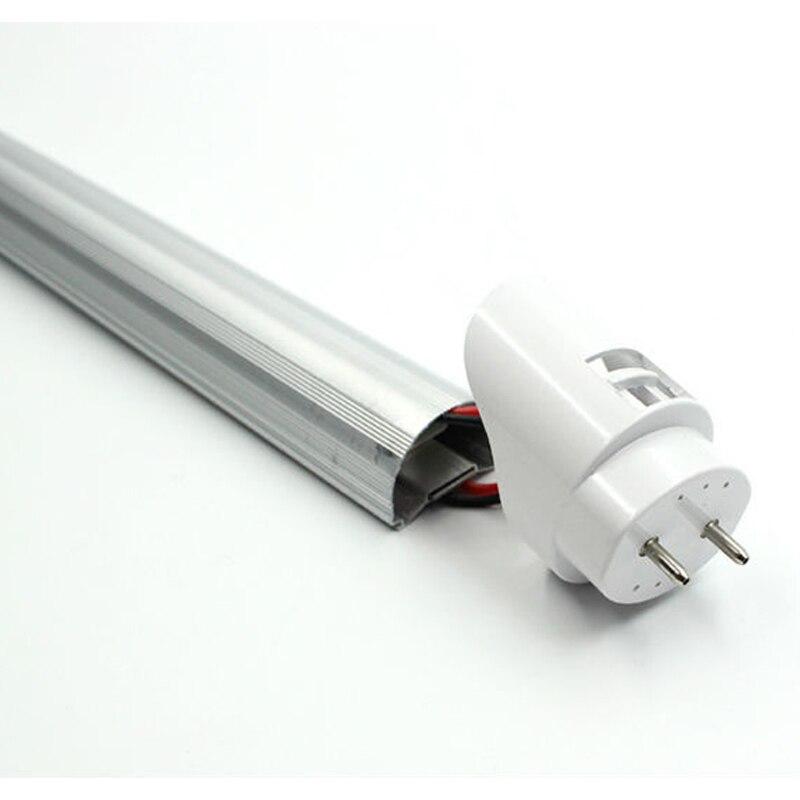 25/50 шт T8 2FT 600 мм 9 w Светодиодный свет пробки SMD 2835 супер Яркость AC110 277V lamparas светодиодная флуоресцентная лампа трубы 604 мм - 6