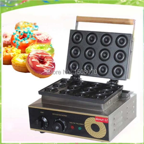 Free Shipping automatic mini donut making machine 220V 53mm mini doughnut machine for sale donut making frying machine with electric motor free shipping to us canada europe