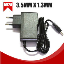 For Foscam CCTV IP Camera 1pc 5V 2A AC/DC Adapter Power Supply Charger 3.5mm x 1.3mm EU Plug(China)