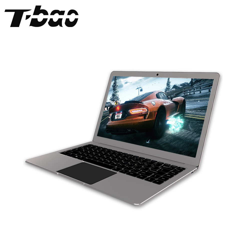 T-bao 2017 Tbook 4 Laptops 1080P FHD 14.1''6GB DDR3 64GB eMMC NGFF M.2 2242 SSD Slot Intel Apollo Lake N3450 All Mental Laptops