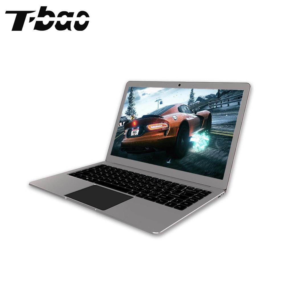 T-bao 2017 Tbook 4 Laptops 1080P FHD 14.1''6GB DDR3 64GB eMMC NGFF M.2 2242 SSD Slot Intel Apollo Lake N3450 All Mental Laptops