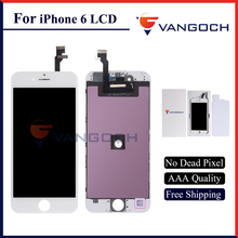 AAA Quality No Dead Pixel Display for iPhone 6 LCD Replacement with 4.7 inch Touch Screen Free Shipping