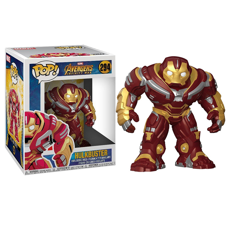 POP The Marvel Avengers3: Infinity War Hulkbuster 294# Action Figure Collected toys for Children giftPOP The Marvel Avengers3: Infinity War Hulkbuster 294# Action Figure Collected toys for Children gift