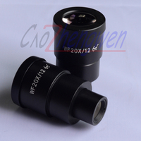 Free Shipping High Point Wide Field Microscope Eyepiece WF20 12MM 30mm