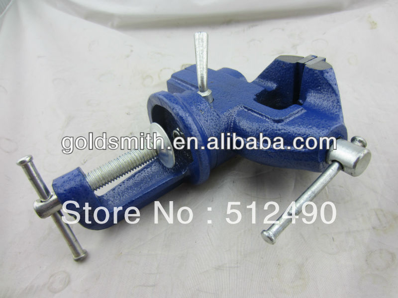 360 Degree bench vise Table Vice 50 mm jaw opening