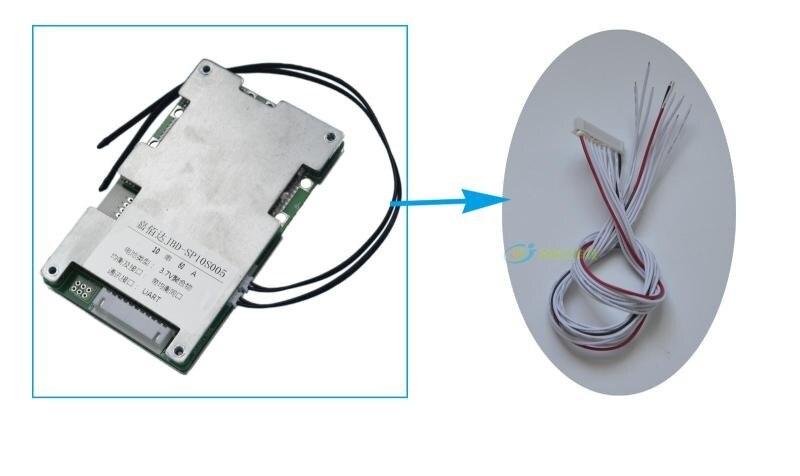 36 V Lifepo4 Bluetooth Smart BMS mit kommunikation Funktion pelz 12 S batterie mit 30A ladung und entladung strom