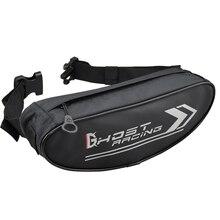 2019 Ghost Racing Universal Leisure Men Black Motorcycle Handlebar Bag Waterproof Front Multi-Functional