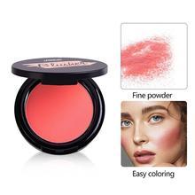 6Colors Face Mineral Pigment Blusher Blush Powder Brozer Cosmestics Professional Makeup Palette Blush Contour Shadow