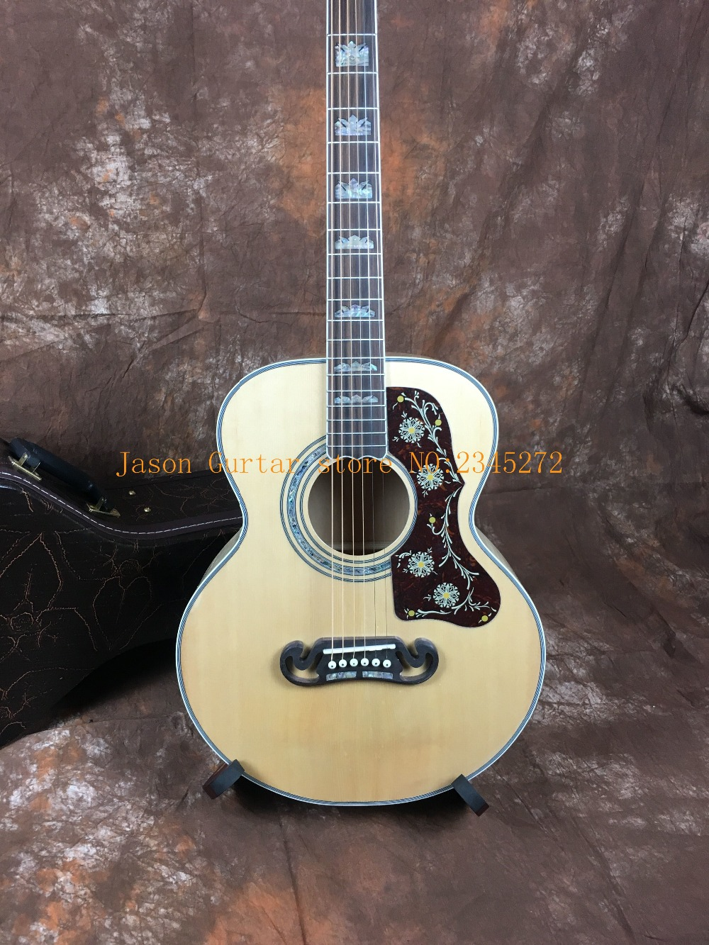2019 latest Chinese factory OEM 200 series acoustic guitar 38 inch free shipping