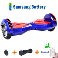 Electric Skateboard 8 5 Inch Hoverboard 2 Wheels Self Balancing Scooter With Bluetooth Remote Control Handbag