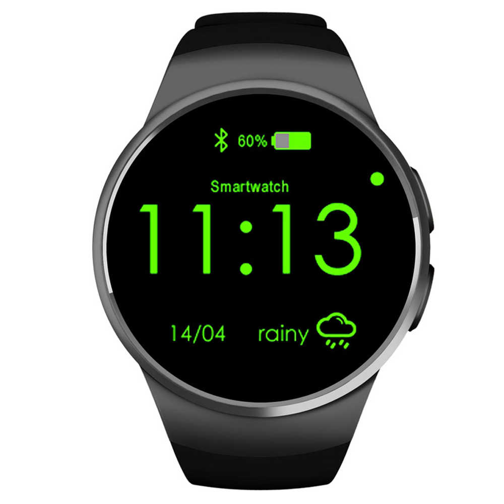 Anti-lost Android ios Sport Smart silicone Digital Wrist wach Camera Pedometer Bluetooth GPS Smartwatch Heart Rate Monitor phone