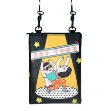 U-PICK New Design Funny Fashion Mini Bag Women Shoulder Bag PU Printing Portable Bag for Daily Trip