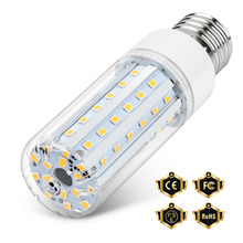 E27 Led Corn Bulb E14 Led Lamp Candle Light 220V Bombillas 5W 10W 15W 20W No Flicker Lamp 45 75 120 138led Chandelier Light 2835