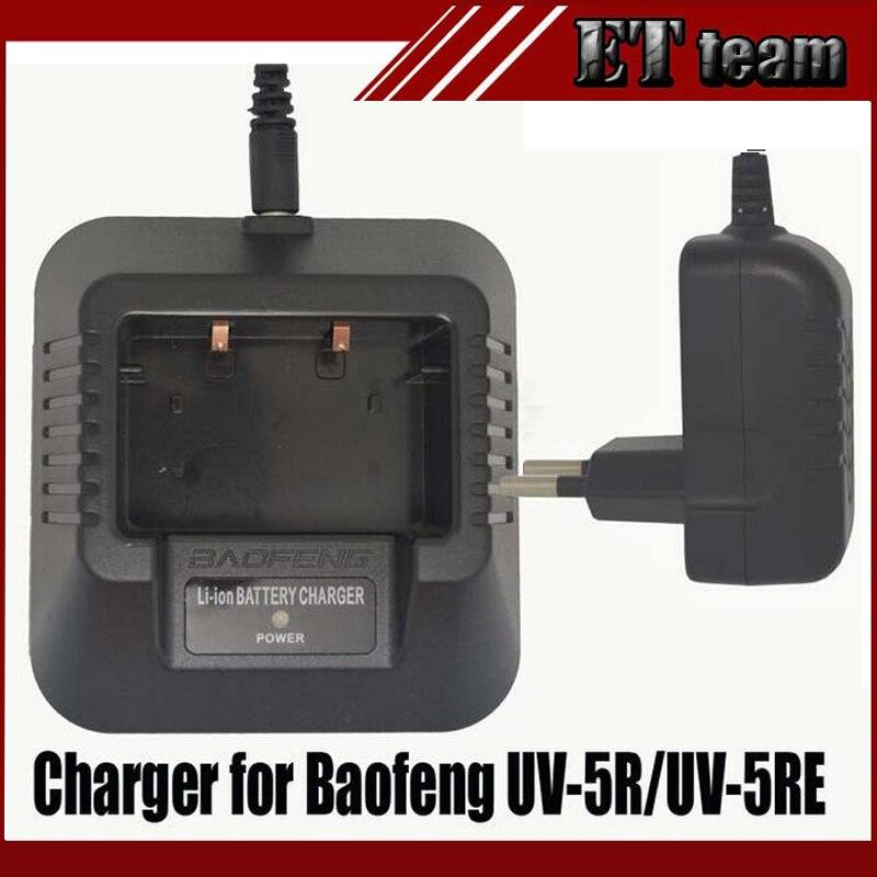 bilder für Original BAOFENG UV-5R US/EU stecker Adapter tischladegerät für UV5R UV-5RA UV-5RB UV-5RC UV-5RD UV-5RE UV-5RO zwei-wege radio