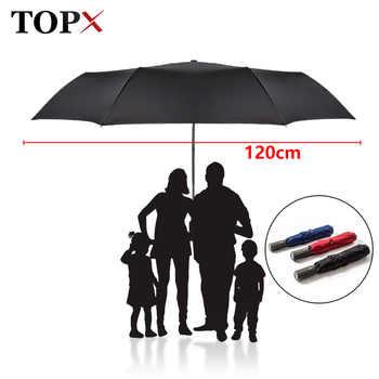 New 120cm Big Automatic Quality Umbrella Rain Women 3Folding Windproof Large Outdoor Umbrella For Men Woman Paraguas Parasol - DISCOUNT ITEM  48% OFF All Category