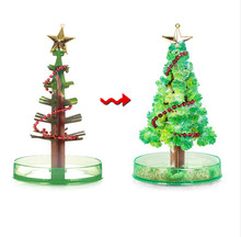 Cool magic Christmas tree model toys for children Architecture DIY House Miniatures science toys for children gift japan