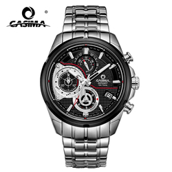 Luxury Brand Sport Men Watch Quartz Watch Casual Charm Luminous Calendar Display Luminous Hands Waterproof 100m CASIMA #8303