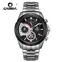 Luxury Brand Sport Men watch quartz stopwatch casual charm relogio masculino Luminous waterproof 100m CASIMA #8303