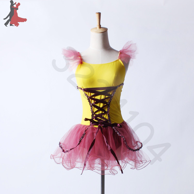 2018 new sexy fashion childrens fly sleeves ballet dance professional dresses height 80cm-185cm free shipping hot sale